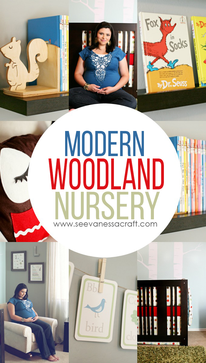 Modern Woodland Creature Nursery Design Ideas