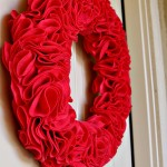 Craft: Felt Ruffle Wreath