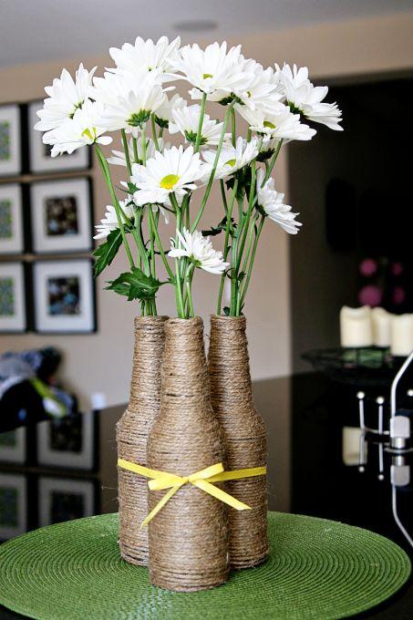 IZZE Upcycled Bottle Vase