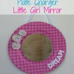 (crafting on a dime) plate charger mirror