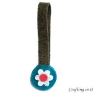 (crafting on a dime) magnetic felt bookmark