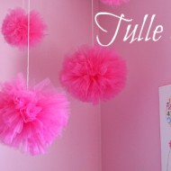 (crafting on a dime) tulle pom poms