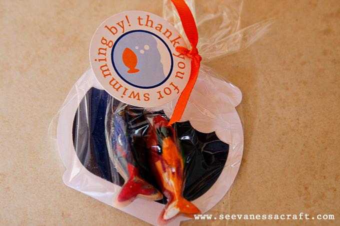 Party Goldfish Second Birthday See Vanessa Craft