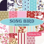 Song Bird Fat Quarter Bundle 2