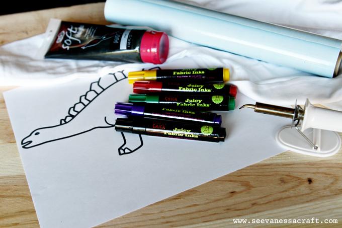 Diy Tutorial Coloring Book T Shirt See Vanessa Craft Bags