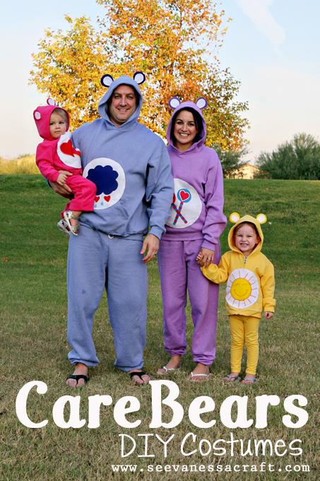 DIY Care Bear Costumes