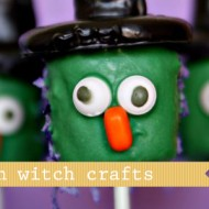 (diy roundup) 6 halloween witch crafts