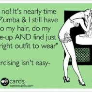(buff mama monday) you know you're addicted to zumba when