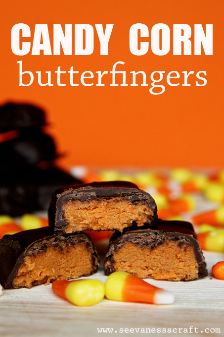 Candy Corn Butterfingers by See Vanessa Craft