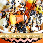 (20 crafty days of halloween) candy corn popcorn