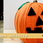 pumpkin shapes activity