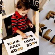 (tot school tuesday) alphabet cookie matching