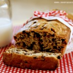 (recipe) chocolate chip banana nut bread