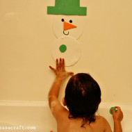 (tot school tuesday) snowman bath puzzle
