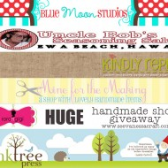 (blogiversary) huge handmade shop giveaway