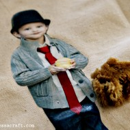 (diy tutorial) mod podge mini me doll