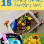 15 Spring Themed Sensory Bins