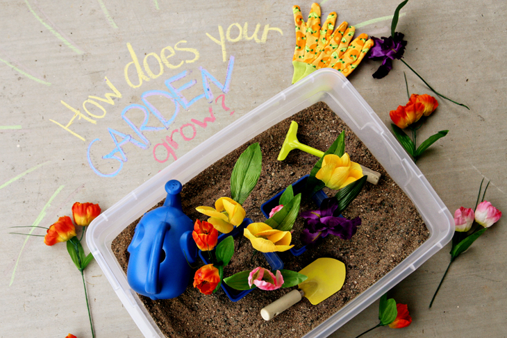 Translations Into Italian: (tot School Tuesday) Spring Sensory Bin Roundup