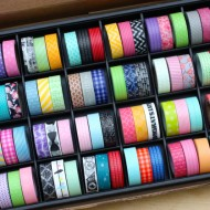 (giveaway) 72 washi tape rolls & display box