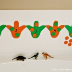 Bath Tub Dinosaur Counting Activity 1 web