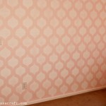 Stenciled Nursery Wall 2 web