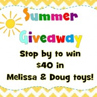 (giveaway) win $40 in melissa & doug toys