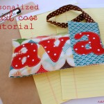 (diy tutorial) back to school personalized pencil case