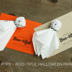 (20 crafty days of halloween) ghost pops & printables
