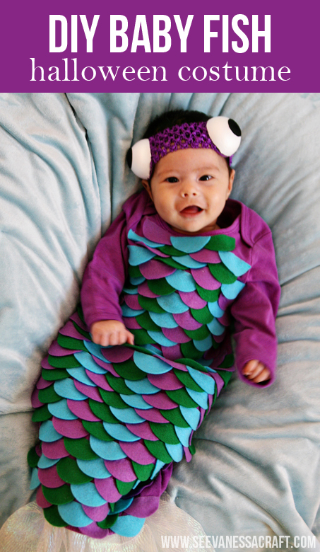 Sharing ...  sc 1 st  See Vanessa Craft & 20 crafty days of halloween) diy baby fish costume - See Vanessa Craft
