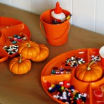 (20 crafty days of halloween) pumpkin painting play date