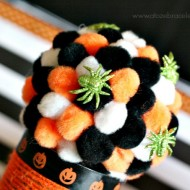 (20 crafty days of halloween) spider party centerpiece