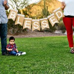 (diy tutorial) blessed banner photo prop or decor