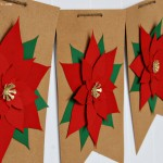 Silhouette Poinsettia Wreath and Banner 6 web