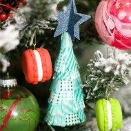 (handmade holiday party) diy ornaments