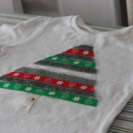 (20 crafty days of christmas) christmas tree ribbon t-shirt
