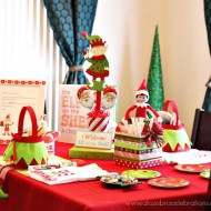 (20 crafty days of christmas) diy christmas party centerpiece