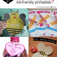 (roundup) 27 kid friendly valentine's day printables