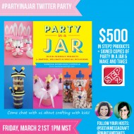(book news) #partyinajar twitter party
