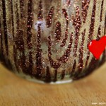 (diy tutorial) wood grain valentine's day mason jar candle