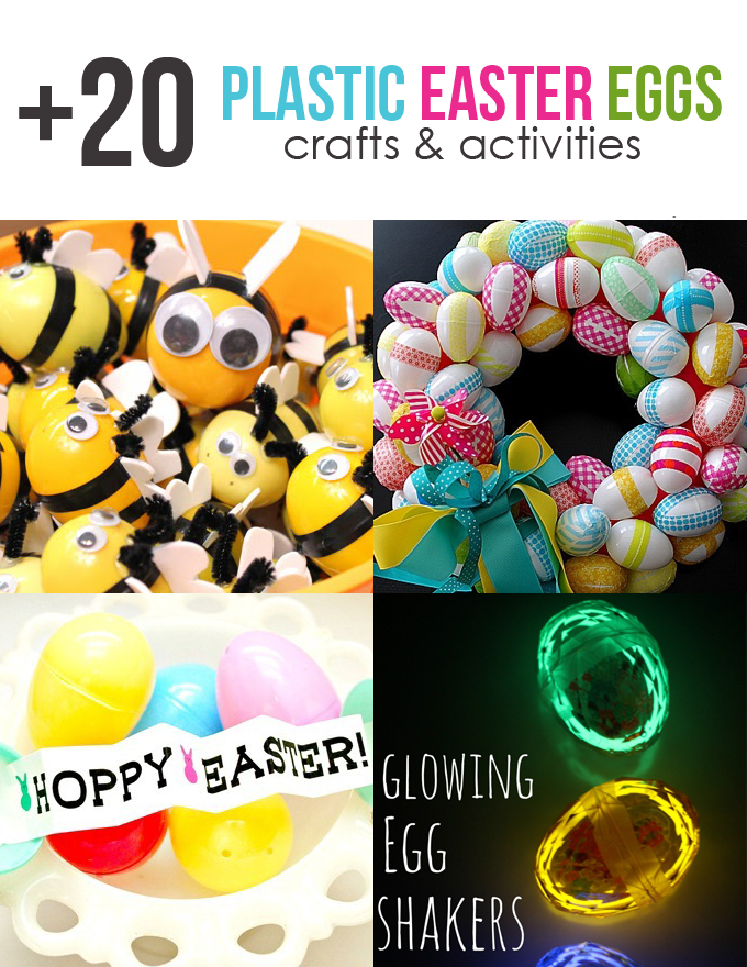 Roundup 20 Plastic Easter Egg Crafts And Activities See Vanessa