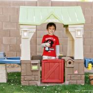 (review) step2 great outdoor playhouse & diy felt envelope