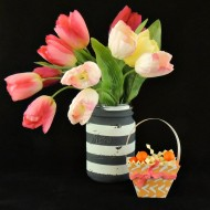 (craft tutorial) paper easter basket and free cut file