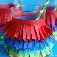 (party hop) summer fiesta diy fringe party cup