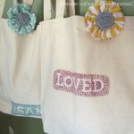 (craft tutorial) personalized canvas bags