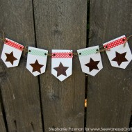 (craft tutorial) 4th of july banner kid craft