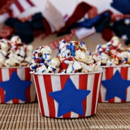 (recipe) 4th of july firecracker popcorn
