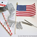 Craft: Kid Friendly 4th of July Sparklers