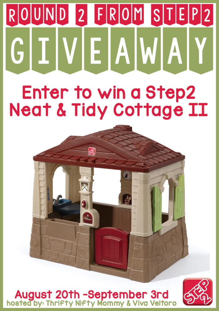 Step2 Playhouse Giveaway