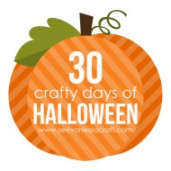 (30 crafty days of halloween) boo porch decoration