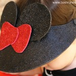 (craft tutorial) disney minnie mouse visor hat